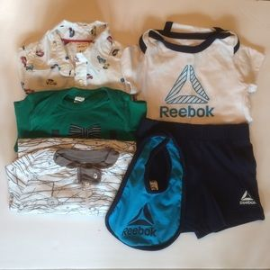 Mixed Brand Baby Boy Clothing Lot 6-9 Months